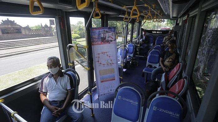 Uji Coba Bus Listrik Gratis di Denpasar, Penumpang Capai 15 Orang Per Hari