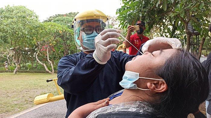 Setelah Rapid Antigen 20 Pengunjung, Pemkot Denpasar Langsung Tutup Taman Kota Lumintang