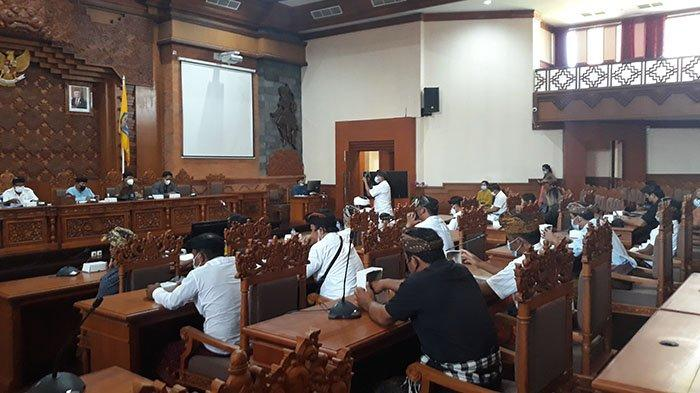 KISRUH Dana LPD, Warga Serangan Mengadu ke Dewan Denpasar, Kelian Banjar Adat: Titiang Nunas Tulung