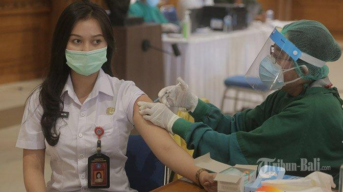 Vaksinasi Clear Pekan Depan, Bupati Badung Targetkan Kuta Selesai Divaksinasi
