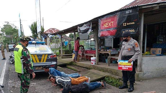 Pelanggar Prokes di Bangli Masih Saja Ditemukan, Tim Gabungan Terus Giatkan Operasi Yustisi