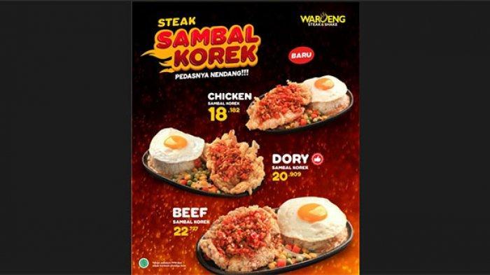 Waroeng Steak & Shake Keluarkan Menu Baru, Bikin Netizen Penasaran Mencicipi, Seperti Apa Menunya?