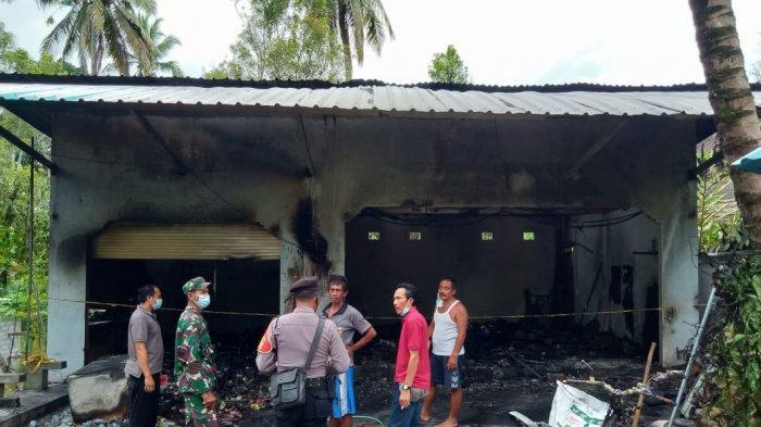 Warung dan Bengkel di Desa Angkah Tabanan Terbakar, Ketut Bela Merugi Rp 300 Juta