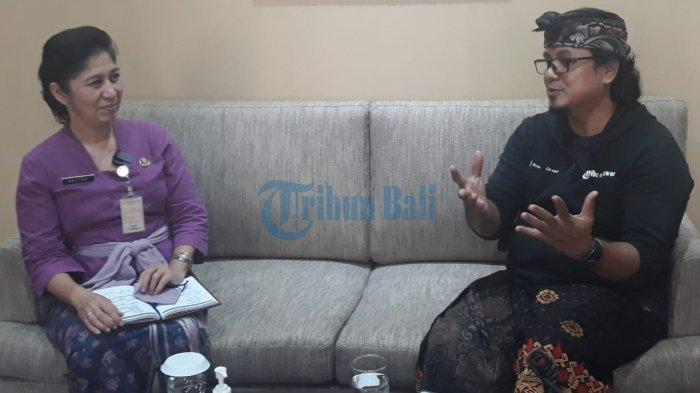 Wawancara Kepala Disparda Denpasar, MA Dezire Mulyani Jadi Kadis Saat Erupsi Gunung Agung & Covid-19