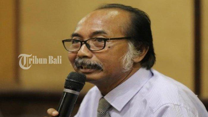 Ahli Hukum Adat Bali dari Universitas Udayana, Prof. Dr. Wayan P. Windia SH Msi