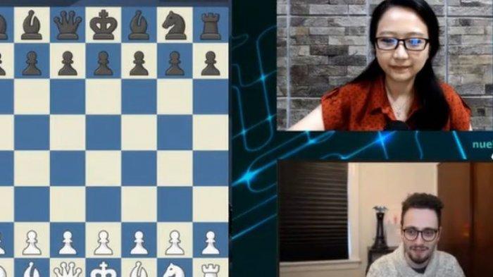 Irene Vs GothamChess, Duel Blitz Chess Berakhir Sama Kuat, Irene Sukandar: Semua Demi Catur