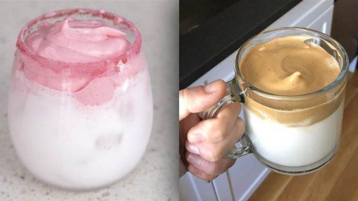 Viral! Akankah Whipped Strawberry Milk Menggantikan Kepopuleran Dalgona Coffee?