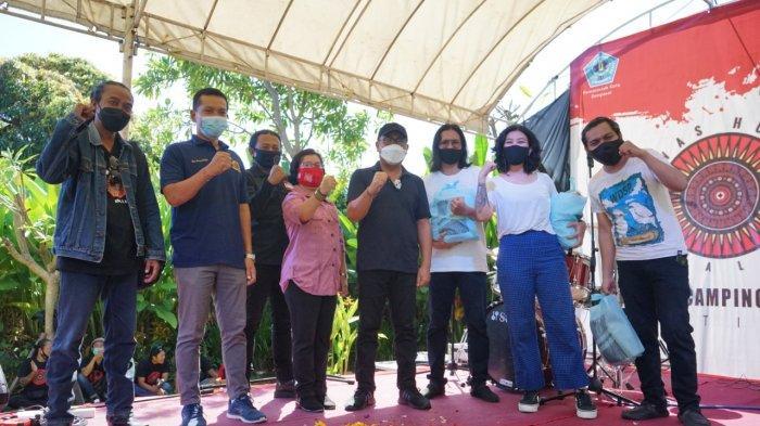 Wawali Arya Wibawa Hadiri Lawas Human Bali & Camping Ground Festival