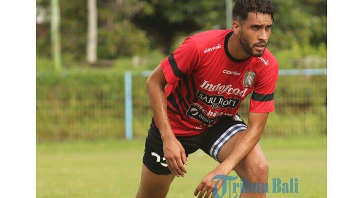 Bek Bali United, Willian Pacheco Jalani Karantina di Jakarta Dulu Sebelum Berangkat ke Bali