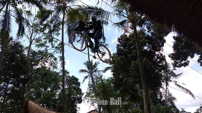 Wisata Eco Park Pada Wareg Tampaksiring Gianyar, Baru Beroperasi Sudah Mulai Dikenal Wisatawan