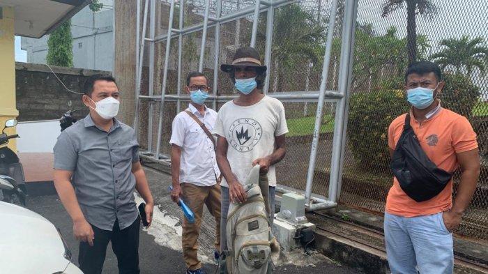 WN India Malak di Jl Sudirman Denpasar, Tak Punya Uang Balik ke Negaranya, Kini Dititip di Rudenim