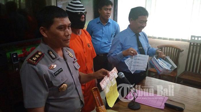 Bule Inggris Ditangkap, Ngaku Beli Sabu-sabu dari Seseorang Bernama Wayan di Kuta