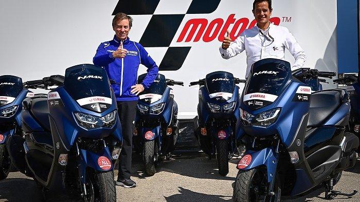 Yamaha NMAX Kembali Jadi Scooter Paddock Resmi di Kejuaraan Dunia MotoGP