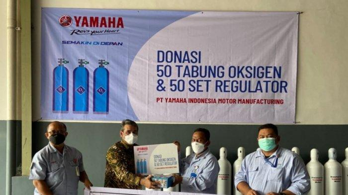 Yamaha Peduli Masyarakat, CSR Tabung Oksigen Hingga Program Vakisnasi Gratis untuk Masyarakat