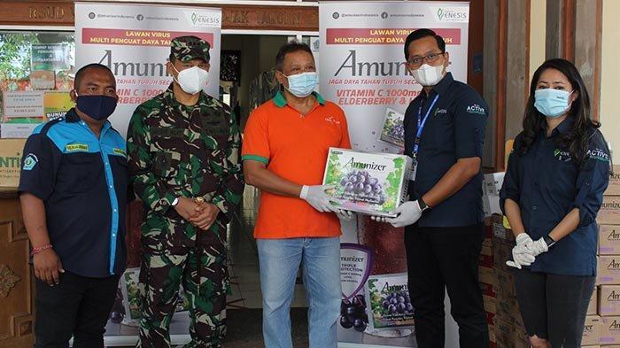 Apresiasi Tenaga Medis, Enesis Group Berikan Amunizer dan Antis kepada RSUD Wangaya
