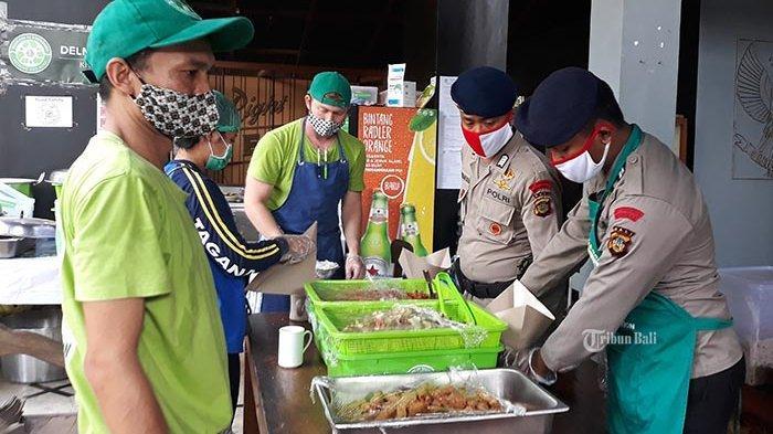Sejak Bulan April Sudah 20.000 Nasi Bungkus Dibagikan Pemkot Denpasar ke Warga yang Dikarantina