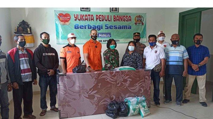 Detasemen Intelijen Kodam IX Udayana dan Yayasan Yukata Peduli Bangsa Lakukan Bakti Sosial di Bali