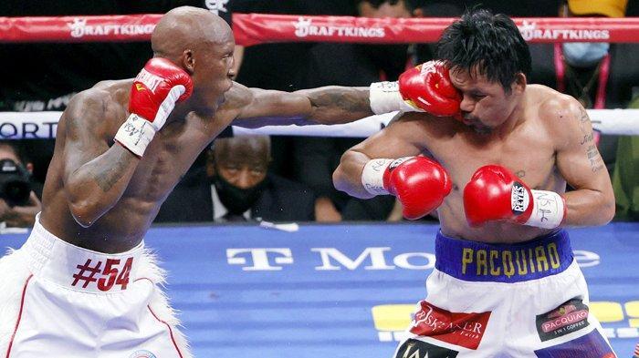 Manny Pacquiao Gagal Rebut Gelar WBA Super dari Yordenis Ugas
