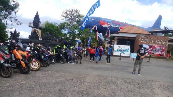 Gelar Touring Merdeka, YRFI Bali Kunjungi Penangkaran Penyu di Buleleng