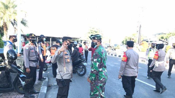 Tinjau Penyekatan PPKM Darurat di Denpasar Bali, Dandim 1611/Badung: Saya Akan Terus Berkeliling