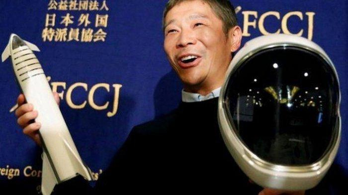 Miliarder Jepang Ajak Jalan-jalan ke Bulan, Pelamar Sudah Lebih dari 300 Ribu Orang