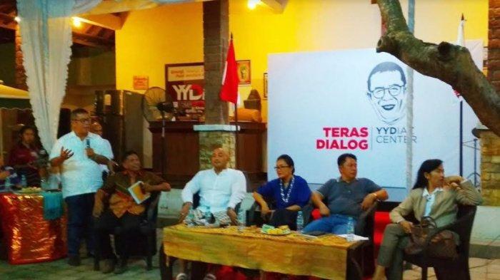 YY Diaz Center Pacu Budaya Literasi Politik Lewat Teras Dialog