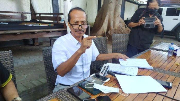 Pengusaha dan mantan promotor tinju Zaenal Tayeb membantah melakukan penipuan saat ditemui di Mirah Boxing Camp Jalan Majapahit, Kuta, Badung pada Jumat 16 April 2021