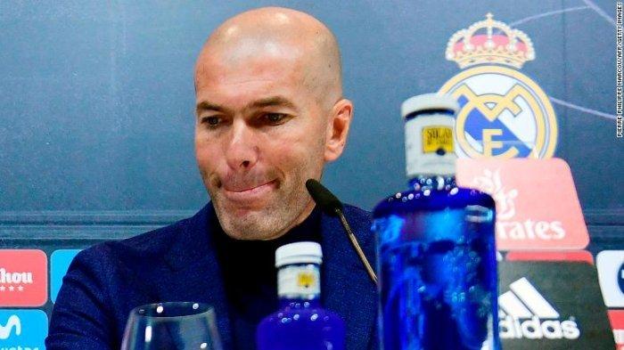 Zinedine Zidane Akui Kesal Atas Hasil Imbang yang Diraih Real Madrid saat Lawan Tim Promosi