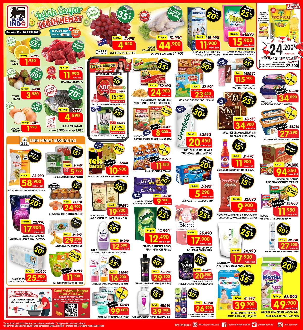 Katalog Promo JSM Superindo 18 - 20 Juni 2021