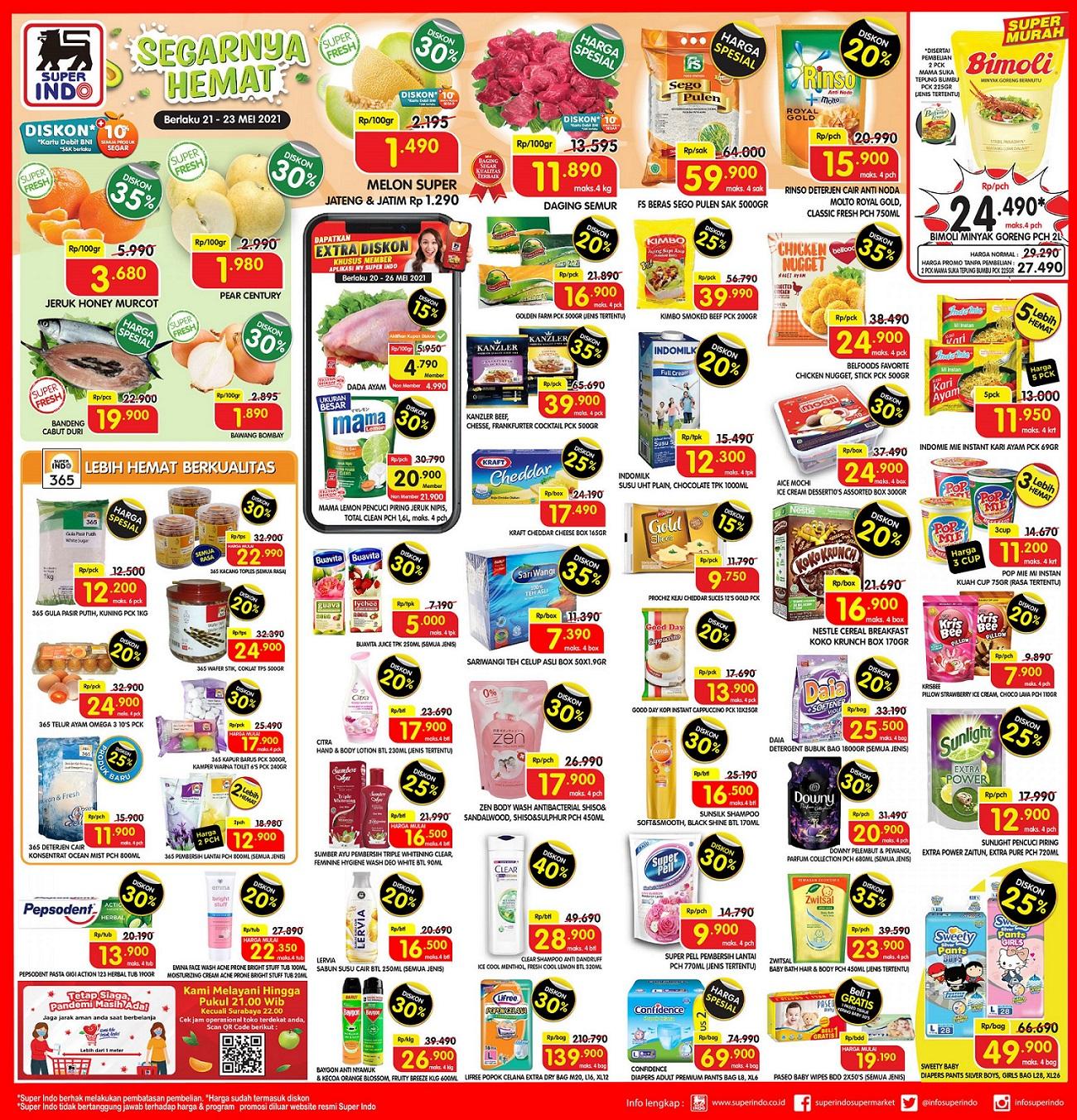 Katalog Promo JSM Superindo 21-23 Mei 2021.