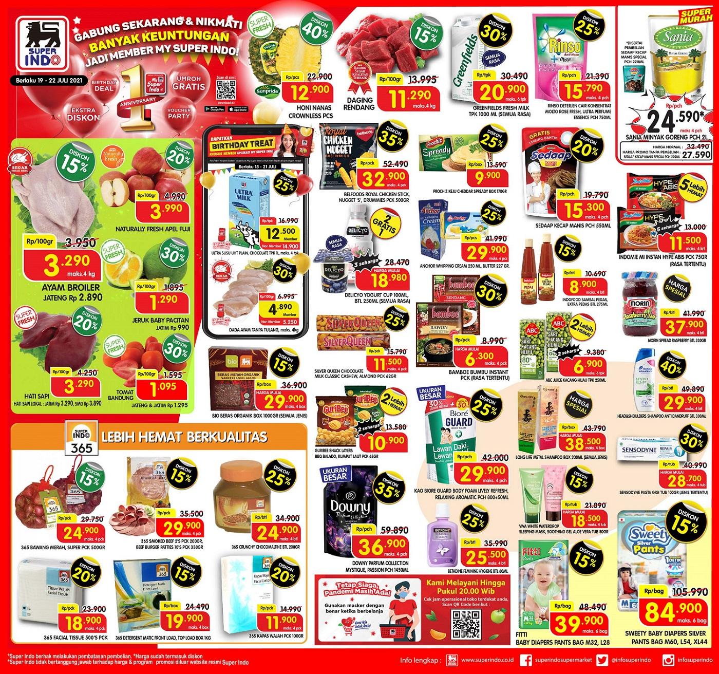 Katalog Promo Superindo 19-22 Juli 2021