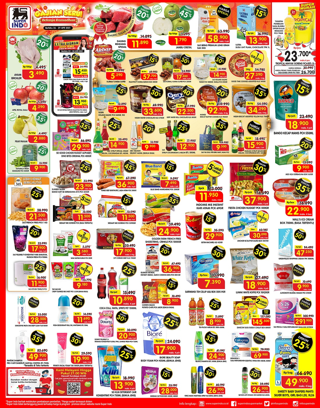 Katalog Promo Superindo 26-29 April 2021.