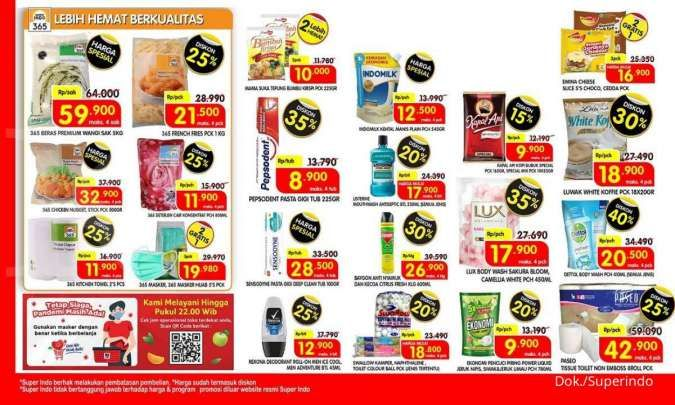 Katalog Promo Superindo Weekday 5-8 April 2021.