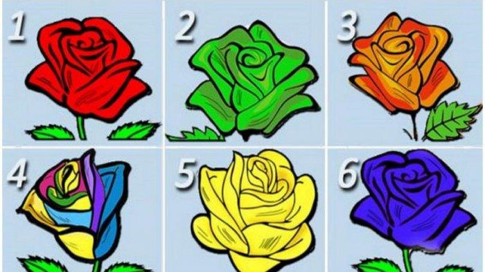 Pilih salah satu mawar yang menarik hatimu, lalu cek kepribadianmu yang sesungguhnya.