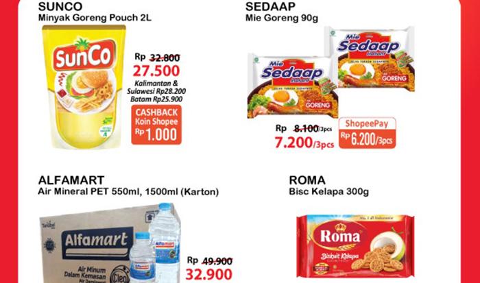 Promo Alfamart 16 - 20 Juli 2021, diskon minyak goreng 2L, es krim Wall's beli 3 lebih hemat. Ada juga diskon mie instant spesial Idul Adha.