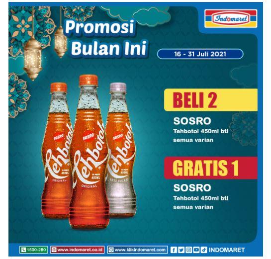 Promo Indomaret 16 - 31 Juli 2021.