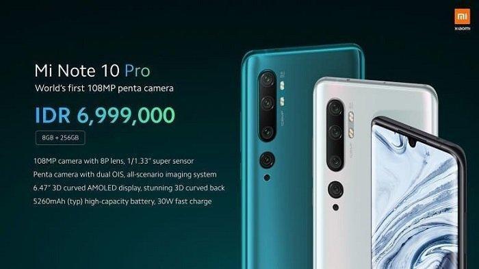 Harga HP Xiaomi Lengkap Bulan Juni 2020, Redmi Note 5A hingga Mi Note 10