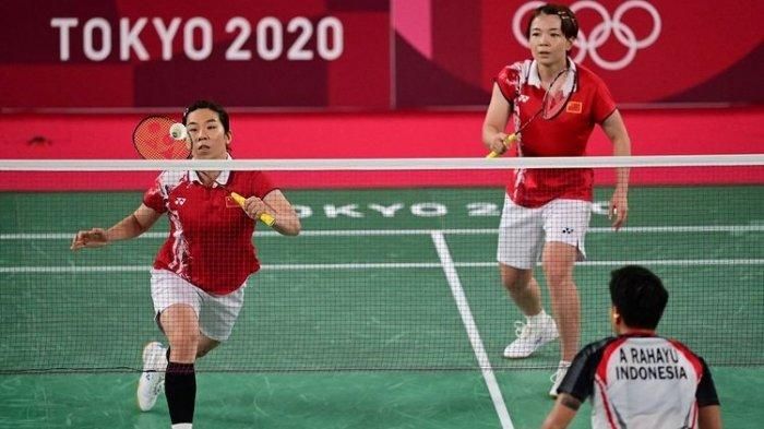 Diwarnai Raket Bengkok, Inilah Detik-detik Greysia/Apriyani Rebut Emas Olimpiade Tokyo