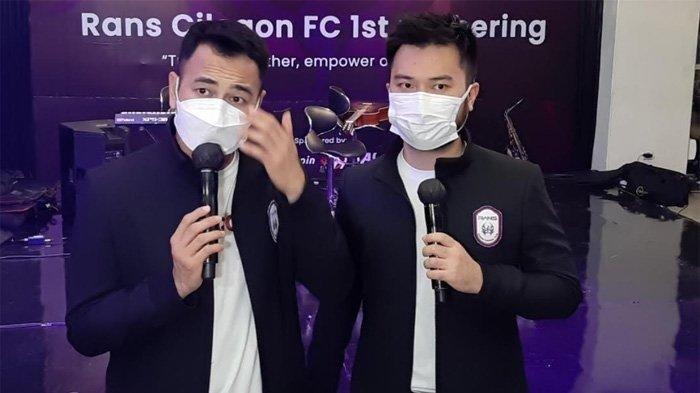 Raffi Ahmad Temui Ketum PSSI, Sebut RANS Cilegon, Bayi yang Butuh Arahan di Sepak Bola Indonesia