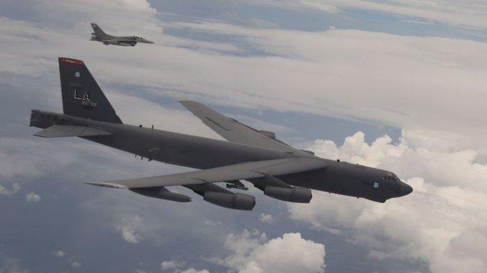 Terbang Bersama F-16 TNI AU, Ini Sosok Pembom B-52 Stratofortress, Pesawat Tua yang Enggan Pensiun