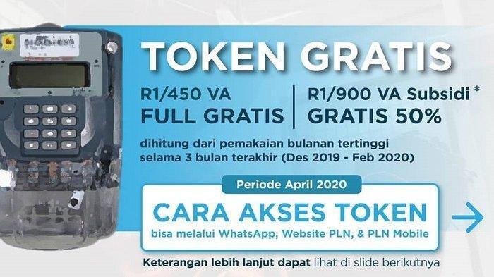 Jangan Lupa Token Listrik Gratis Bulan Mei Sudah Dapat Diakses Via WA PLN dan Login www.pln.co.id