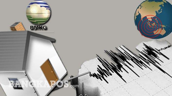 Diguncang Gempa 6,2 SR, Kantor Gubernur Sulbar Ambruk, Warga Berhamburan Keluar Rumah