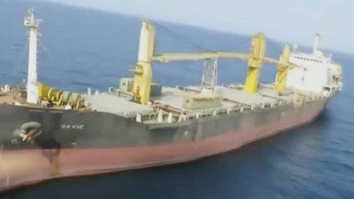 Israel Balas Dendam, Serang Kapal Minyak Saviz Iran di Lepas Pantai Eritrea Laut Merah