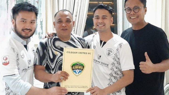 Raffi Ahmad dan Rudy Salim Investasi Rp 300 Miliar untuk Klub Bola Rans Cilegon FC
