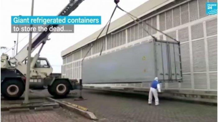 Ekuador Kewalahan Hadapi Wabah Covid-19, Mayat Korban Virus Corona Ditinggalkan di Jalan