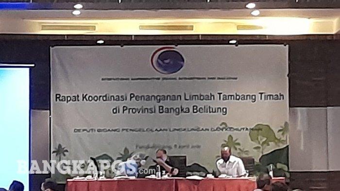 Bangka Belitung Bakal Jadi Contoh Pembuatan Satgas Upaya Pengelolaan Tambang Timah dan Ikutannya