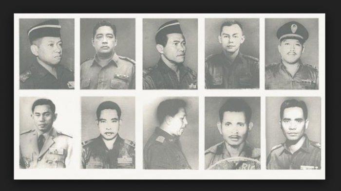 10 Pahlawan Revolusi yang Gugur oleh G30S/PKI, Lengkap dengan Pangkat dan Jabatannya