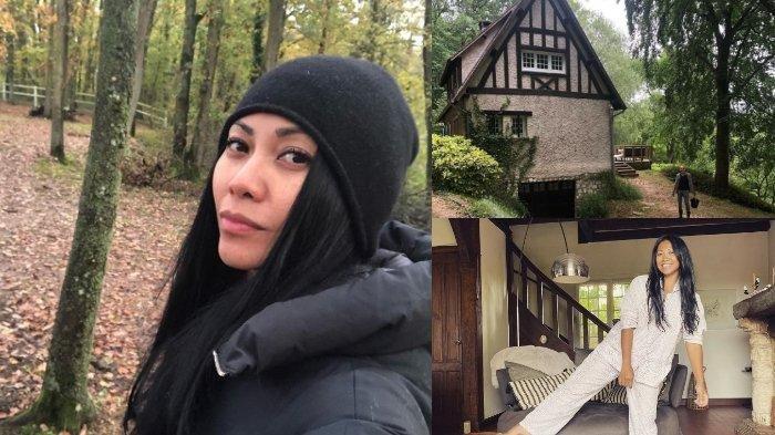 10 POTRET Rumah Anggun C Sasmi Dikelilingi Pepohonan hingga Halaman Luas