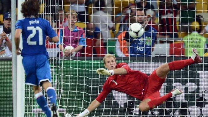 Italia vs Inggris: Enam Pertemuan Terakhir yang Mengesankan, Penalti Panenka Pirlo Tak Terlupakan