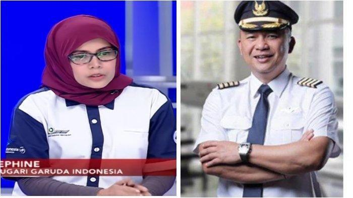 Heboh Soal Sosok Pramugari 'Selir' Eks Dirut Garuda, Gemar Gantungkan Foto di Belakang ID Cardnya.